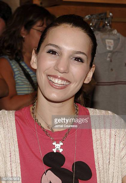 Christy Carlson Romano during Christy Carlson Romano Greets Fans at World of Disney Store in New York City - August 12, 2005 at World of Disney Store...