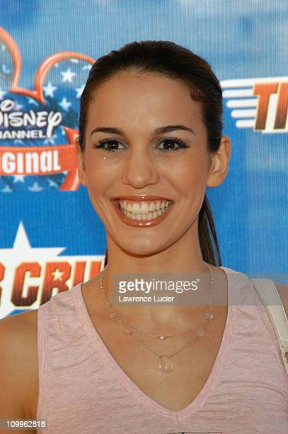 Christy Carlson Romano during Disney Channel Presents The New York Premiere of Tiger Cruise at The Intrepid SeaAirSpace Museum in New York City New...