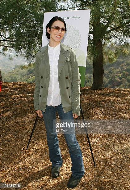 Christy Carlson Romano during EMA and E! Entertainment Television Tree Planting Event - April 4, 2007 at Tree People's Headquarters in Coldwater...