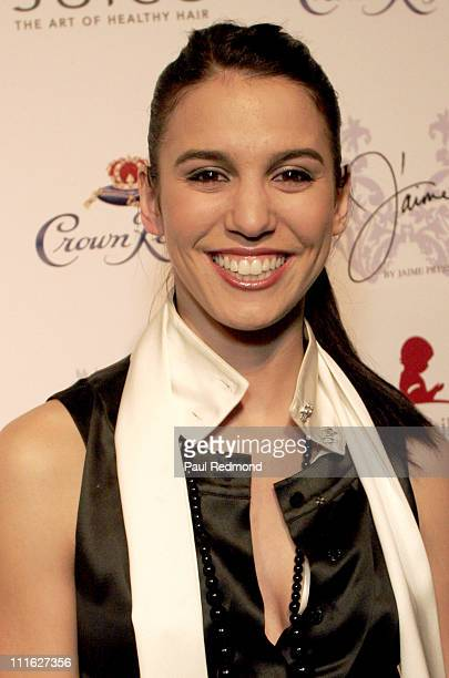 Christy Carlson Romano during J'aime Spring/Summer '07 by Jaime Pressly Presented by Joico & Elle Magazine to Benefit St. Jude Children's Research...