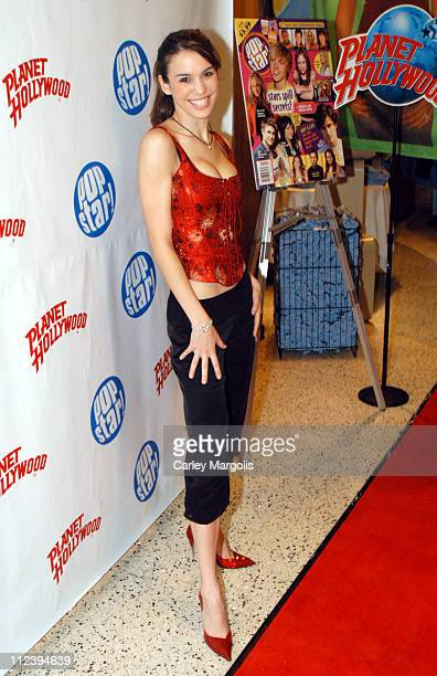 """Christy Carlson Romano during Jesse McCartney Celebrates the Release of his New CD """"Beautiful Soul"""" - Arrivals and Performance at Planet Hollywood..."""