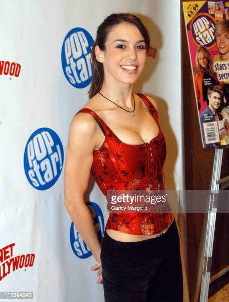 Christy Carlson Romano during Jesse McCartney Celebrates the Release of his New CD Beautiful Soul Arrivals and Performance at Planet Hollywood Times...
