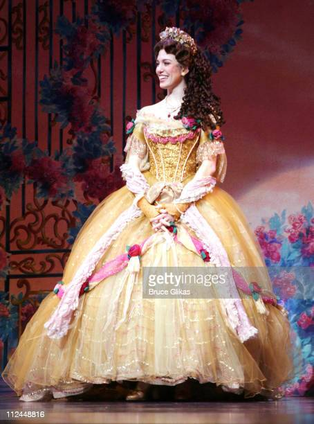 Christy Carlson Romano during Opening Night of Christy Carlson Romano in Beauty and The Beast on Broadway at The LuntFontainne Theater/New Amsterdam...