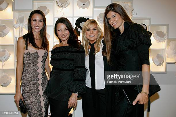Christy CarlsonRomano Fran Drescher Catherine Hickland and Anne Fontaine attend ANNE FONTAINE honors FRAN DRESCHER and Cancer Schmancer at 677...