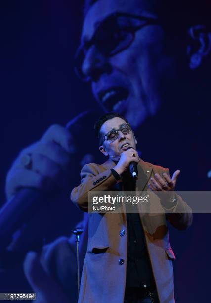 Christy Dignam, the lead singer of the popular Irish rock band Aslan, performs at Pendulum Summit, World's Leading Business and Self-Empowerment...