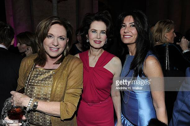 Christy Ferrer Dayle Haddon and attend the Inaugural Gala Dinner for the Cecilia Attias Foundation for Women hosted by Cecilia Attias former wife of...