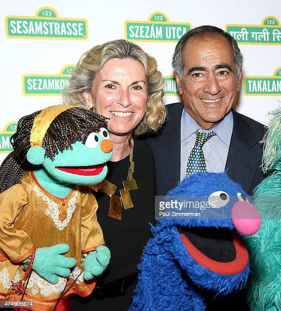 Christy Mack and Former Morgan Stanley CEO John Mack attend the Sesame Workshop's 13th Annual Benefit Gala at Cipriani 42nd Street on May 27 2015 in...