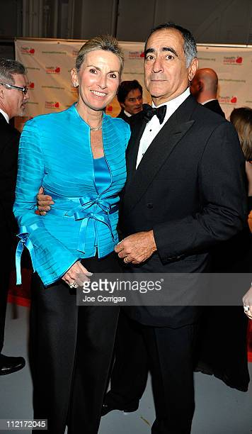 Christy Mack and John Mack Chairman of the Board of Morgan Stanley attend the 2011 HealthCorps' Fresh From The Garden Gala at the Intrepid...