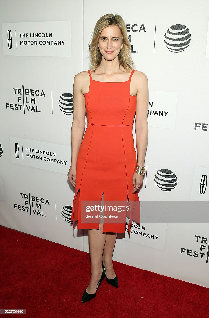 Christy Mayer attends 'A Hologram For The King' World Premiere at the John Zuccotti Theater at BMCC Tribeca Performing Arts Center on April 20, 2016 in New York City.