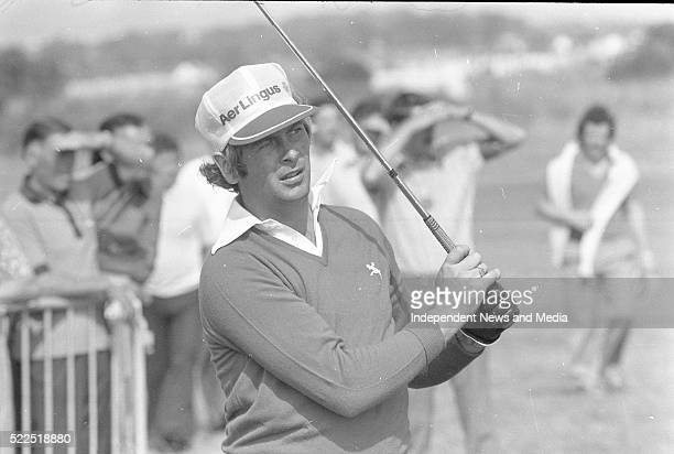 Christy O'Connor jnr playing in the Carrolls Irish Open Championship Circa August 1976