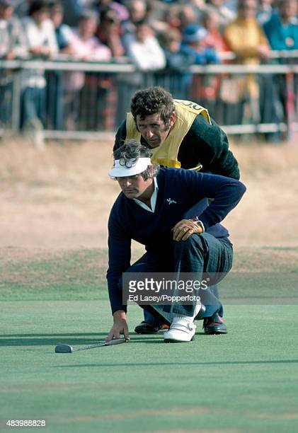 Christy O'Connor of Ireland in action during the British Open Golf Championship at the Royal Birkdale Golf Club in Southport England on 9th July 1976