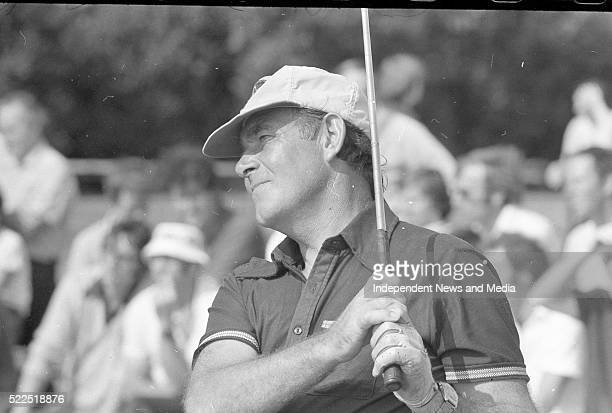 Christy O'Connor Senior playing in the Carrolls Irish Open Championship Circa August 1976