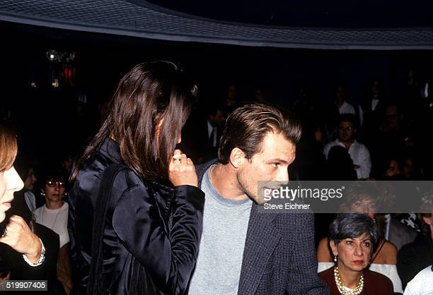 Christy Turlington and Christian Slater attend Hair Cares at Club USA New York New York October 25 1993