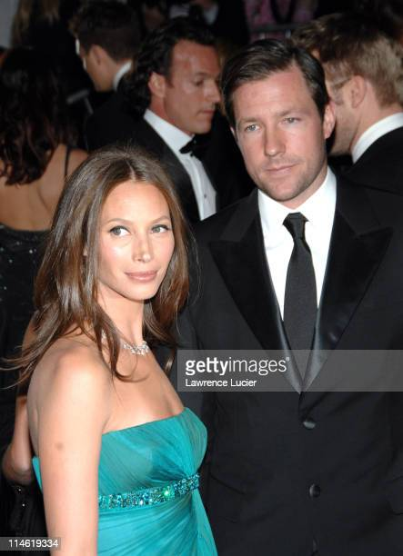Christy Turlington and Ed Burns during 'Poiret King of Fashion' Costume Institute Gala at The Metropolitan Museum of Art Arrivals at Metropolitan...
