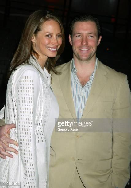 Christy Turlington and Edward Burns during 3rd Annual Tribeca Film Festival Vanity Fair Party at The State Supreme Courthouse in New York City New...