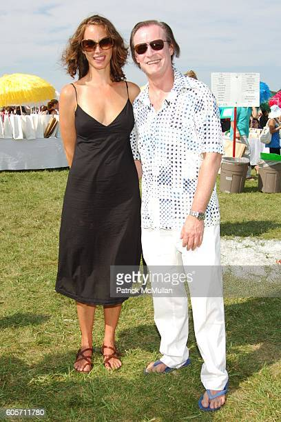 Christy Turlington and Patrick McMullan attend SUPER SATURDAY 9 hosted by Kelly Ripa Donna Karan and InStyle Magazine To Benefit The Ovarian Cancer...