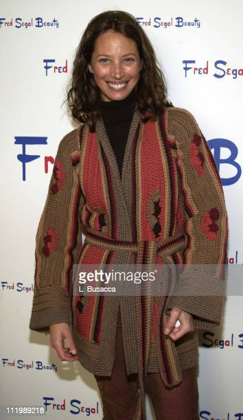 Christy Turlington at The Fred Segal Beauty Spa at The Village at The Lift