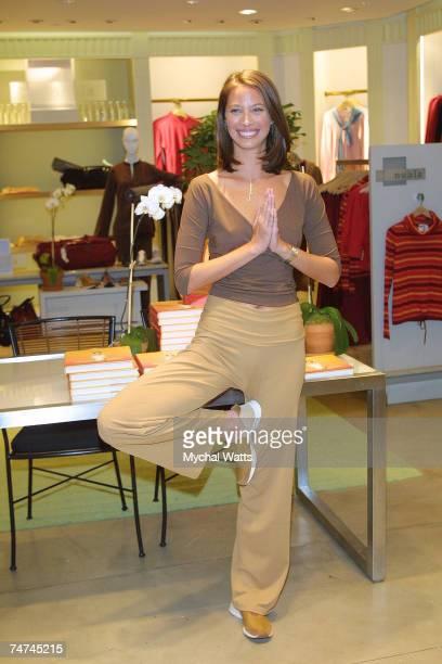 Christy Turlington at the Henri Bendel's in New York New York