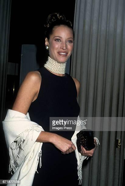 Christy Turlington attends the 1992 Metropolitan Museum of Art's Costume Institute Gala circa 1992 in New York City