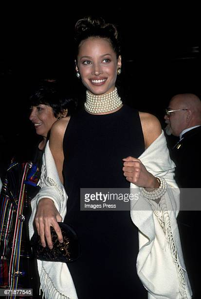 Christy Turlington attends the 1992 Metropolitan Museum of Art's Costume Institute Gala circa 1992 in New York City.