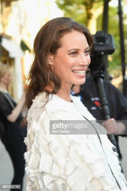 Christy Turlington attends the Betteridge Cartier Cocktail Reception during the Greenwich International Film Festival Day 1 on June 1 2017 in...