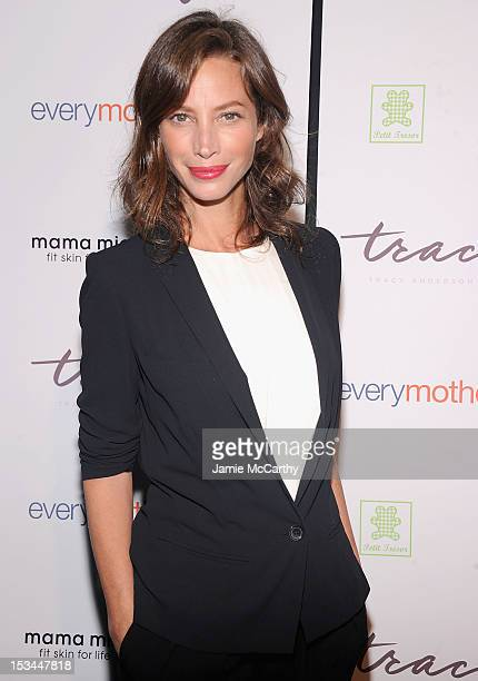 Christy Turlington attends The Tracy Anderson Method Pregnancy Project at Le Bain At The Standard on October 5 2012 in New York City