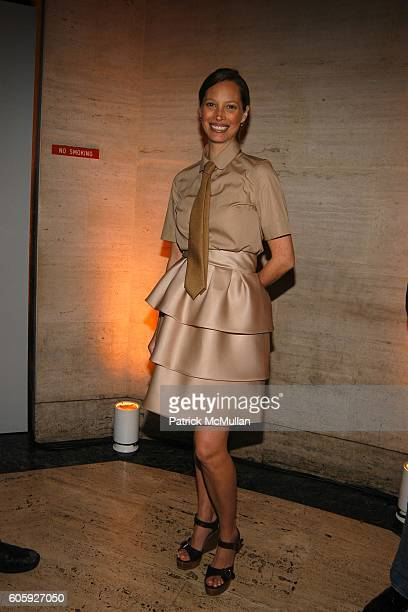 Christy Turlington attends VANITY FAIR Tribeca Film Festival Party hosted by Graydon Carter and Robert DeNiro at The State Supreme Courthouse on...