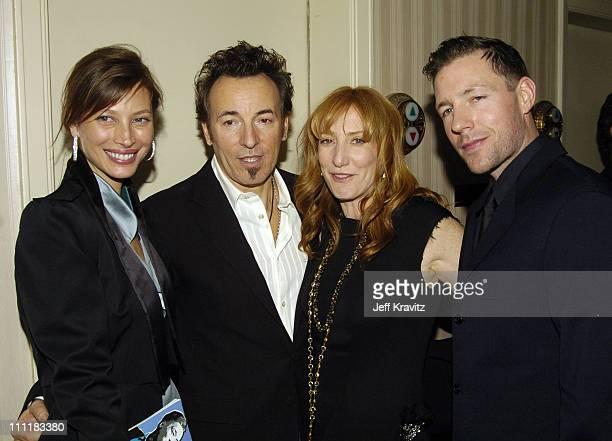 Christy Turlington Bruce Springsteen Patti Scialfa and Edward Burns
