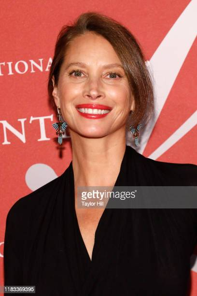 Christy Turlington Burns attends Fashion Group International's 2019 Night of Stars at Cipriani Wall Street on October 24 2019 in New York City