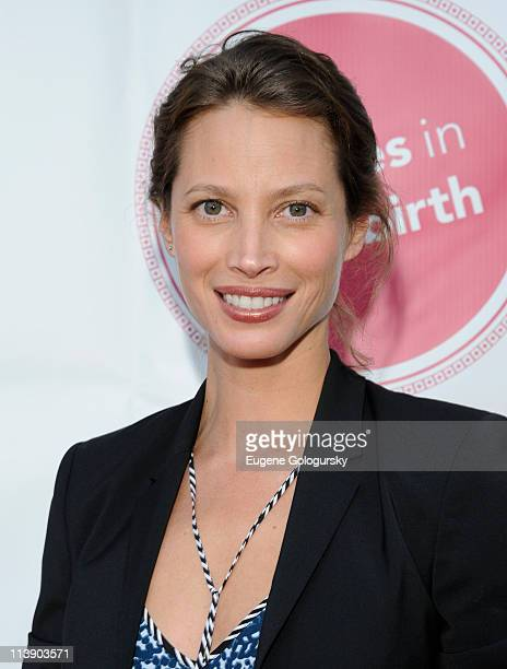 Christy Turlington Burns attends the 2011 Concert For A Healthy Birth at he Canal Room on May 9 2011 in New York City