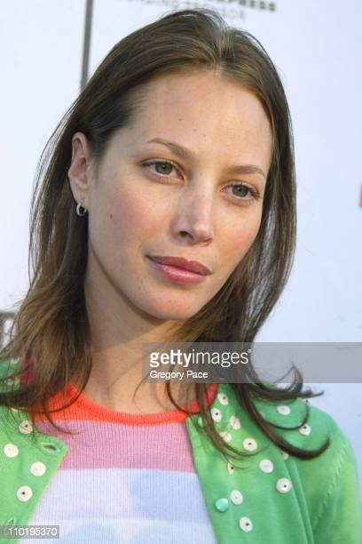 Christy Turlington during 3rd Annual Tribeca Film Festival 'Looking for Kitty' Premiere at UA Theater Battery Park in New York City New York United...