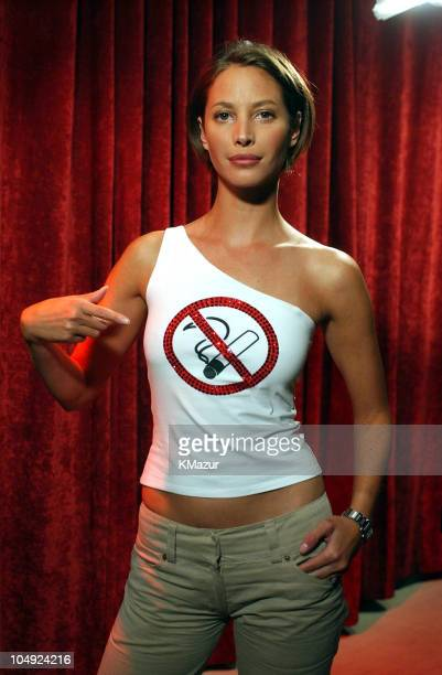 Christy Turlington during Christy Turlington at 'True Life I Can't Breathe' episode airing on MTV on November 14 2001 in New York City New York...