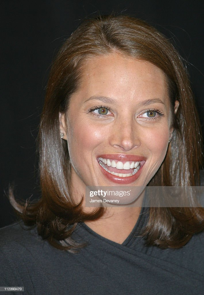 Christy Turlington during Christy Turlington signs copies of 'Living Yoga' at Barnes & Noble in New York City, New York, United States.