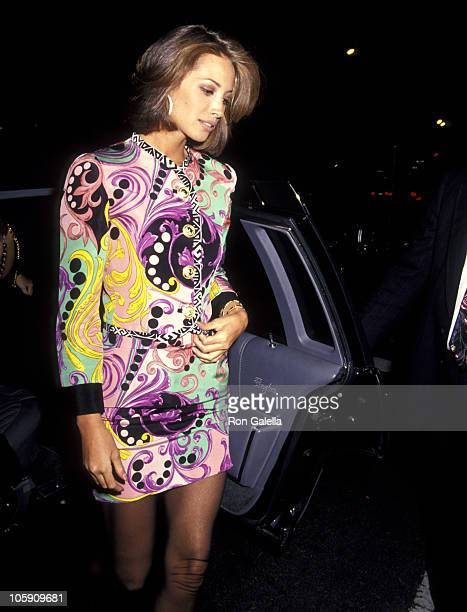 Christy Turlington during Haimoff - Grubman Wedding Reception - October 12, 1991 at New York Public Library in New York City, New York, United States.