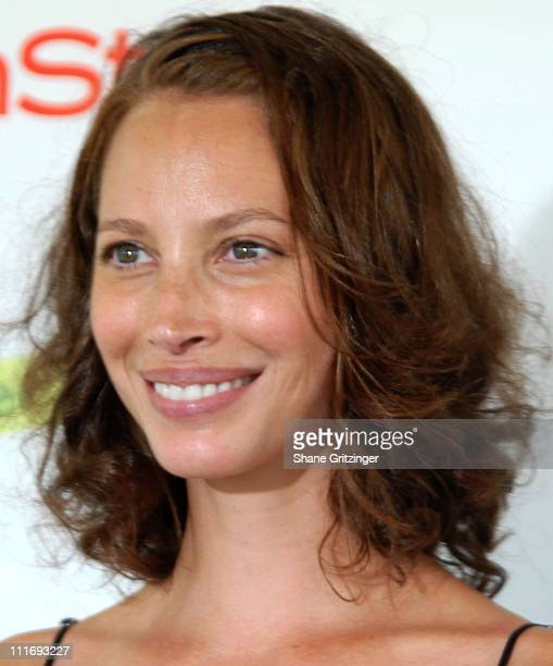 Christy Turlington during Kelly Ripa Donna Karan and InStyle Magazine Host Super Saturday 9 To Benefit The Ovarian Cancer Research Fund at Nova's Ark...