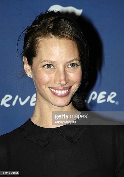 Christy Turlington during Riverkeeper Gala Honoring Viacom's Tom Freston at Pier 60 at Chelsea Piers in New York City, New York, United States.