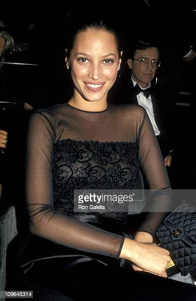 Christy Turlington during The Michael Awards Benefit for the National Children's Leukemia Foundation April 11 1994 at Hotel Macklowe in New York City...