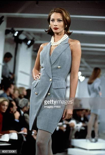Christy Turlington on the runway circa 1992 in New York City