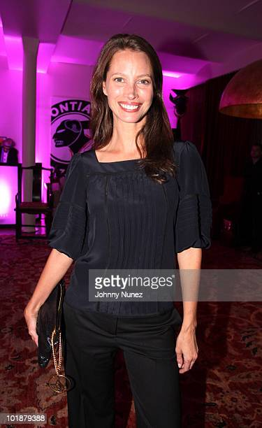 Christy TurlingtonBurns hosts a Angels for Africa charity event at a private location on May 26 2010 in New York City