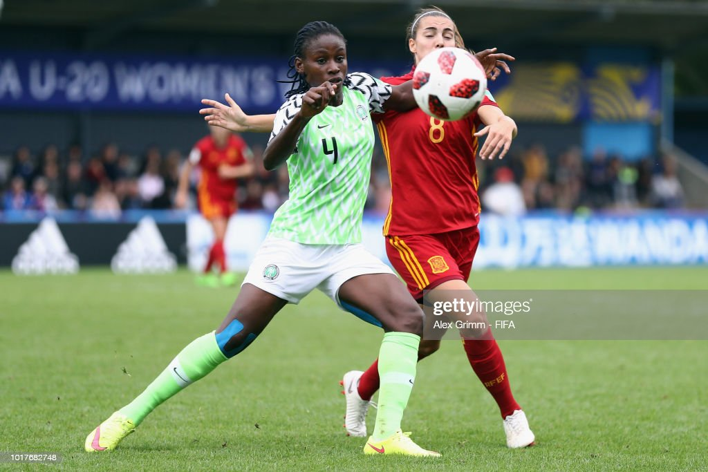 Spain v Nigeria - FIFA U-20 Women's  World Cup France 2018 Quarter Final