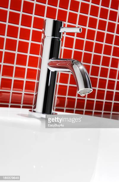 Chrome faucet