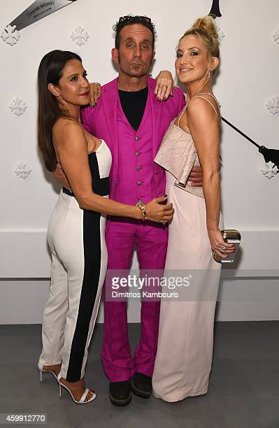 Chrome Hearts Founders Laurie Lynn Stark Richard Stark and actress Kate Hudson attend Chrome Hearts Celebrates The Miami Project During Art Basel...
