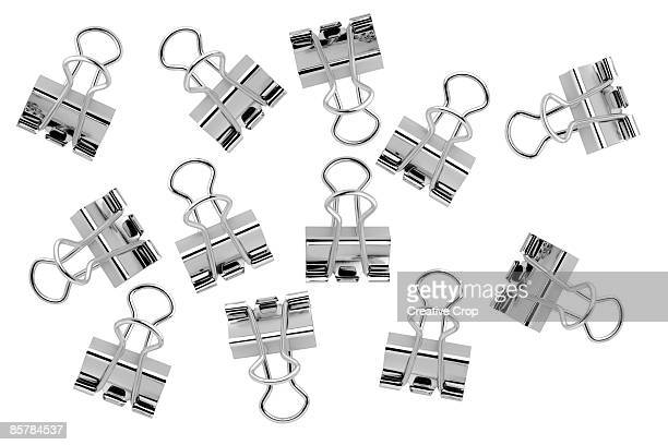 Chrome steel paper clips