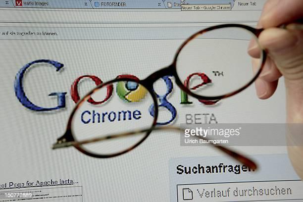 GERMANY BONN Chrome the new google browser