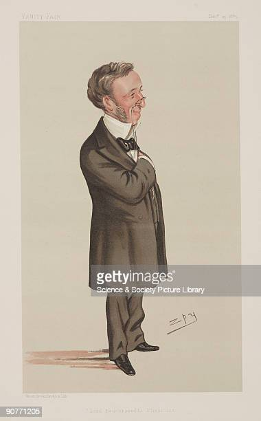 Chromolithograph by Vincent Brooks Day and Son Ltd of a caricature by Leslie Ward better known as Spy from �Vanity Fair� magazine Richard Quain was...