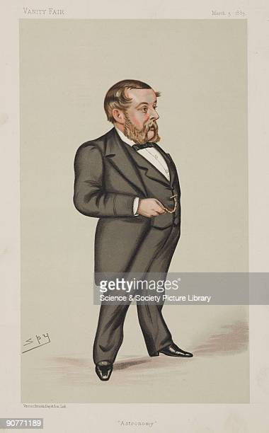 Chromolithograph by Vincent Brooks Day Son of a caricature by Leslie Ward better known as Spy for �Vanity Fair� magazine Richard Anthony Proctor...