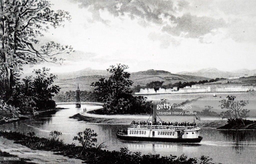 The Crinan Canal at Lochgilphead. : News Photo