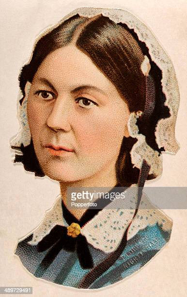 A chromolithograph of Florence Nightingale the founder of modern nursing published in London circa 1880