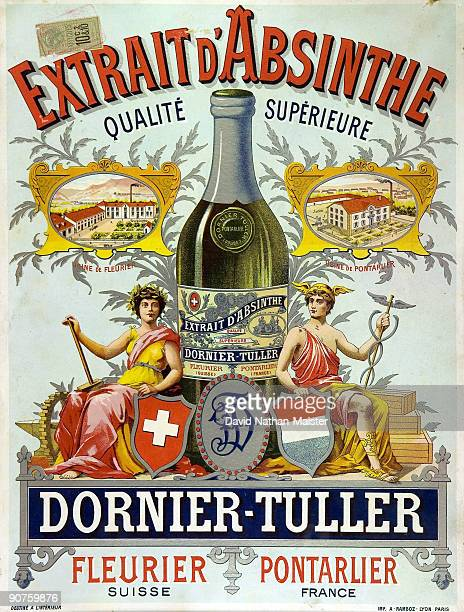 A chromolithographic advertisement for the well known brand of DornierTuller