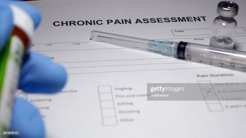 Chronic Pain : Stock Photo